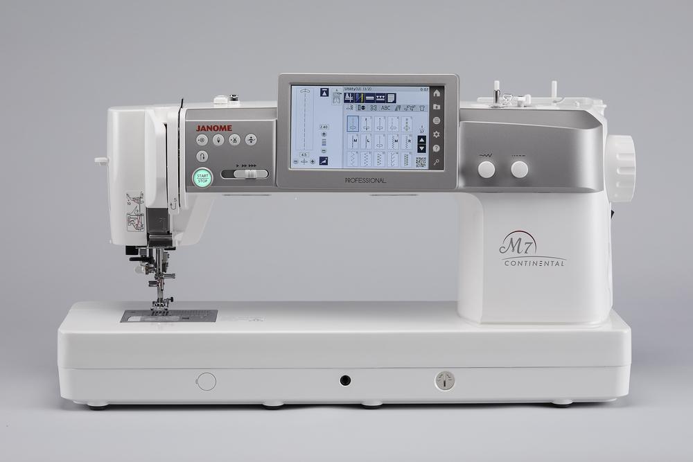 JANOME CM7P Machine à coudre professionelle